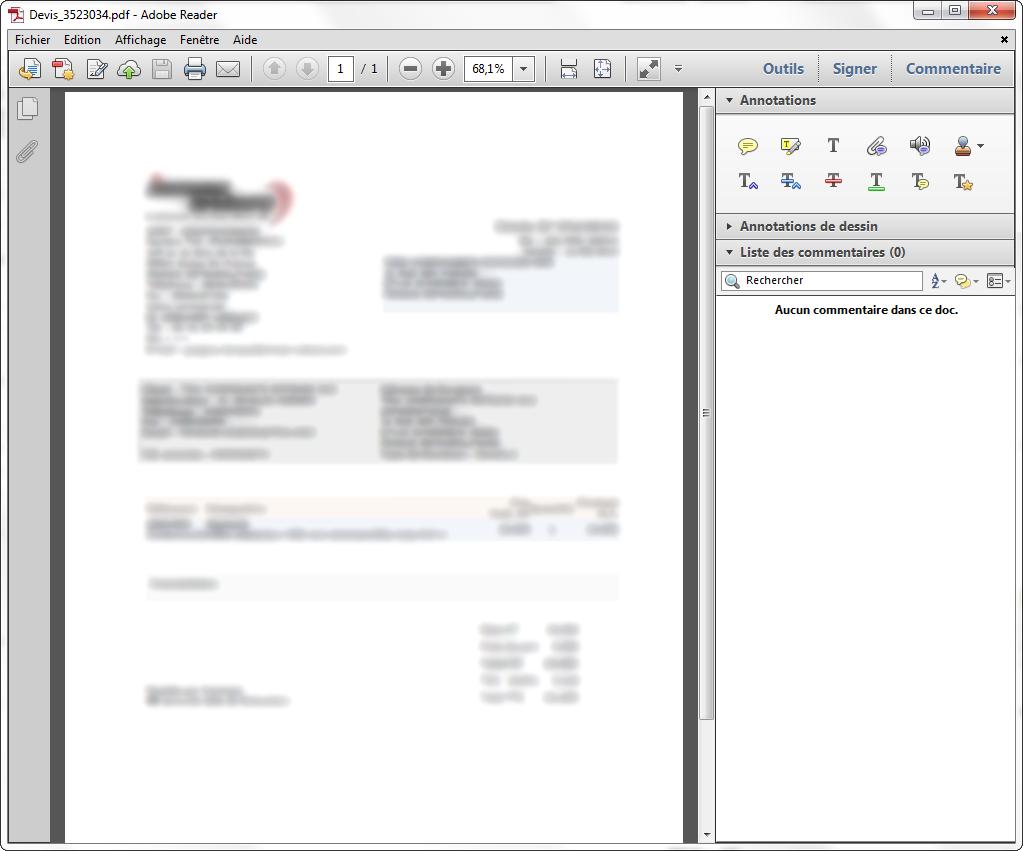 Ouverture fichier PDF