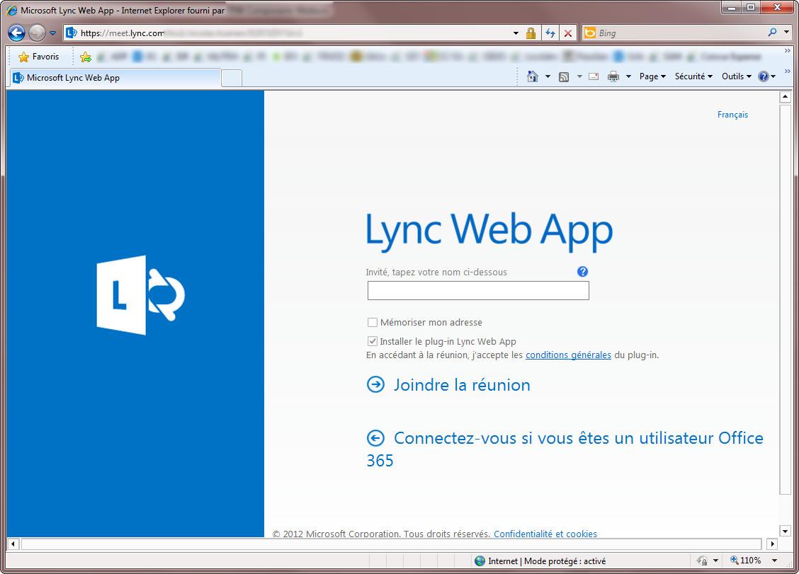 Erreur Lync - Etape 4