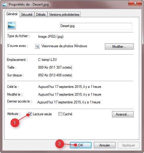 Visionneuse de photos Windows – Problème fonctions de rotation grisées 3