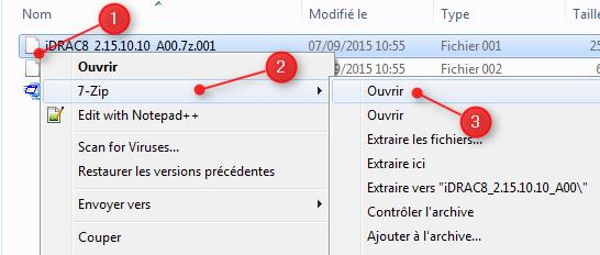 Diviser fichiers avec 7Zip 6